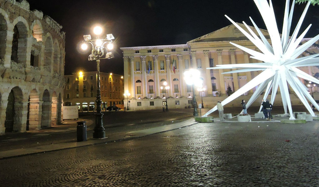 Festività natalizie natalizie a Verona
